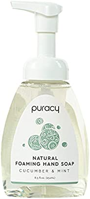 Puracy Natural Foaming Hand Soap, Cucumber &