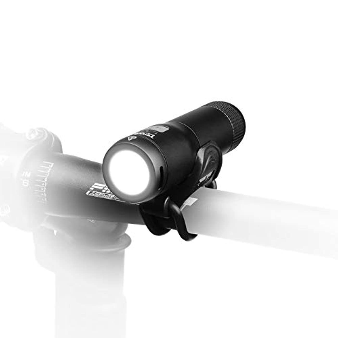 故意に気難しい雪のTOWILD 自転車ライト LED 軽量ヘッドライト USB充電 通勤通学のライト サイクリング 用ライト EDC懐中電灯 防水 防災停電用 ハンドル固定用ホルダー付