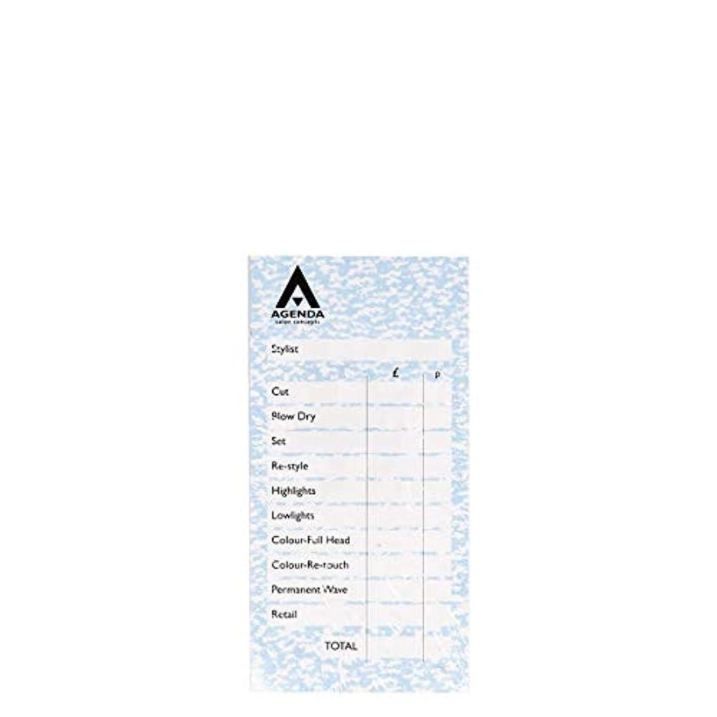 アクセス非常に変更アジェンダ サロンコンセプト チェックパッドブルー6x100リーフ[海外直送品] [並行輸入品]