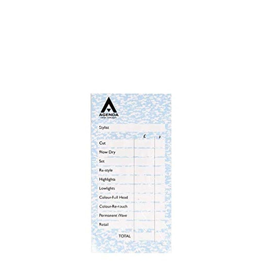変位インタフェース奴隷アジェンダ サロンコンセプト チェックパッドブルー6x100リーフ[海外直送品] [並行輸入品]