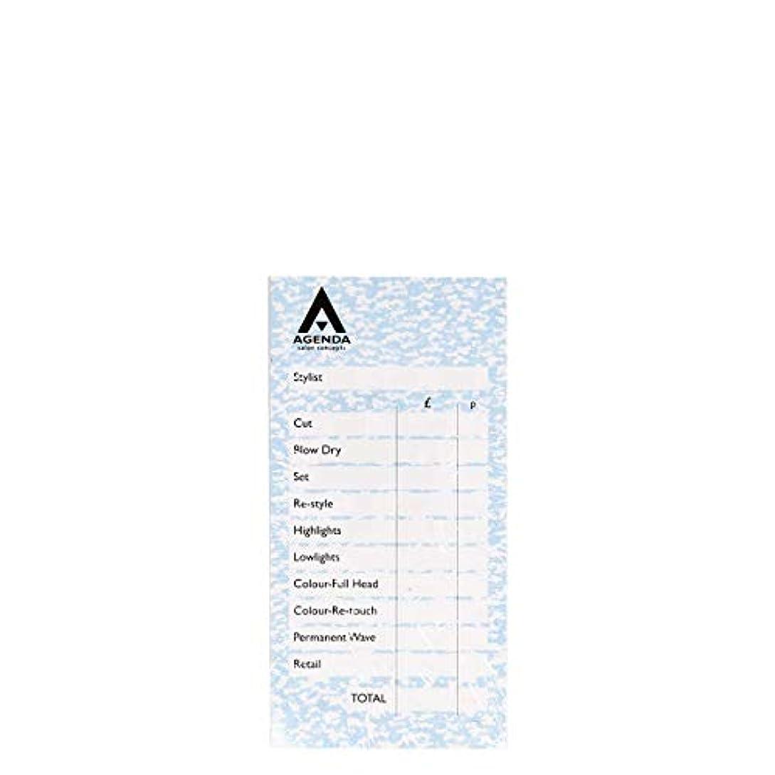 威する混合調子アジェンダ サロンコンセプト チェックパッドブルー6x100リーフ[海外直送品] [並行輸入品]