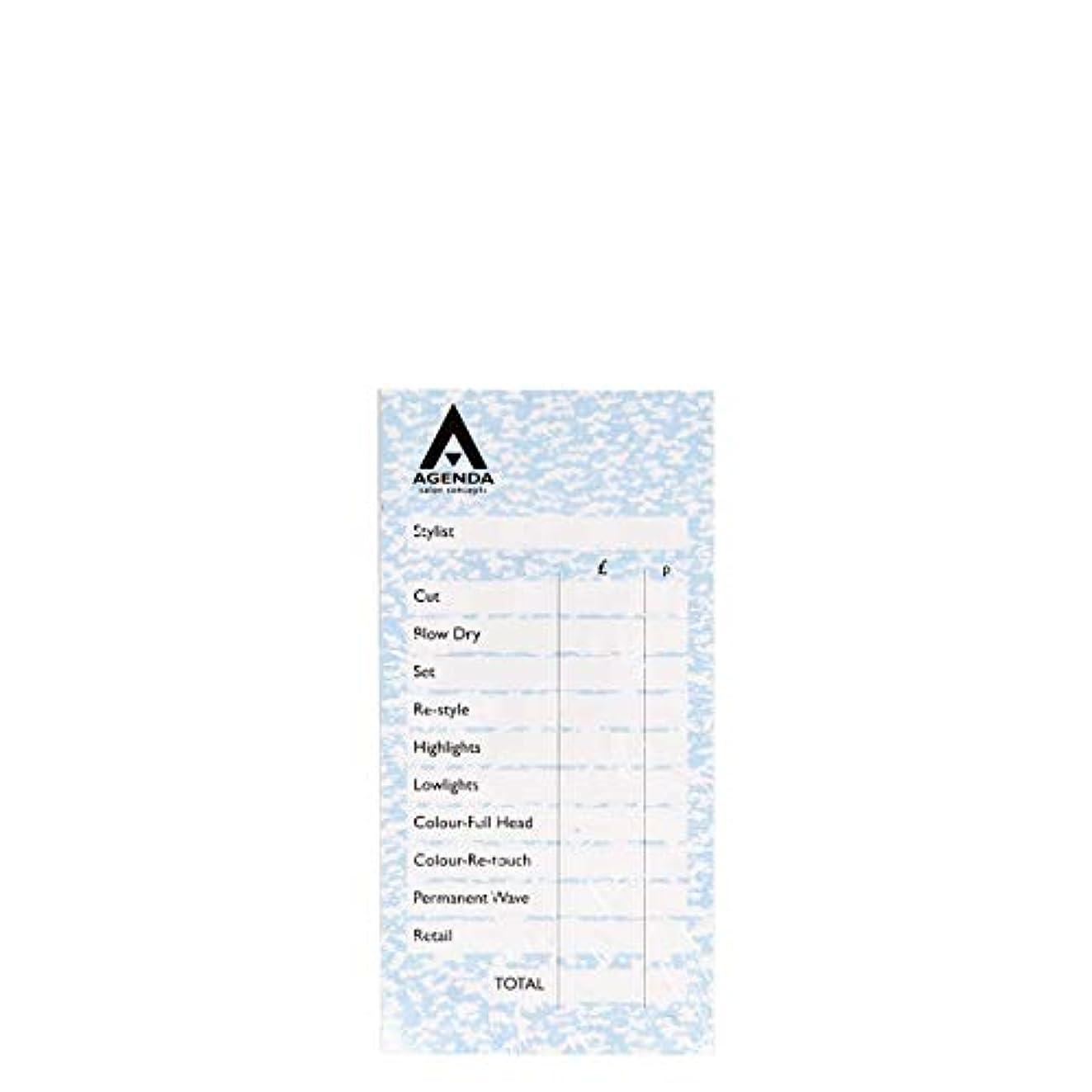 頑固な力強い裕福なアジェンダ サロンコンセプト チェックパッドアソート6x100リーフ[海外直送品] [並行輸入品]