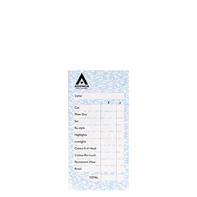 フラップ用心深い距離アジェンダ サロンコンセプト チェックパッドブルー6x100リーフ[海外直送品] [並行輸入品]