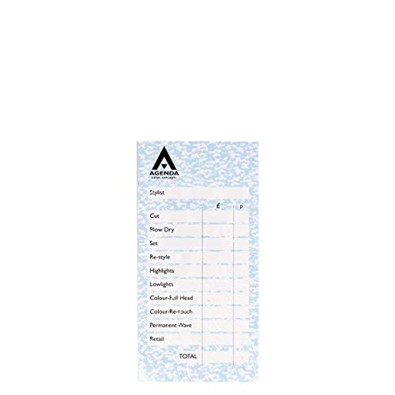 間違いバー糞アジェンダ サロンコンセプト チェックパッドブルー6x100リーフ[海外直送品] [並行輸入品]