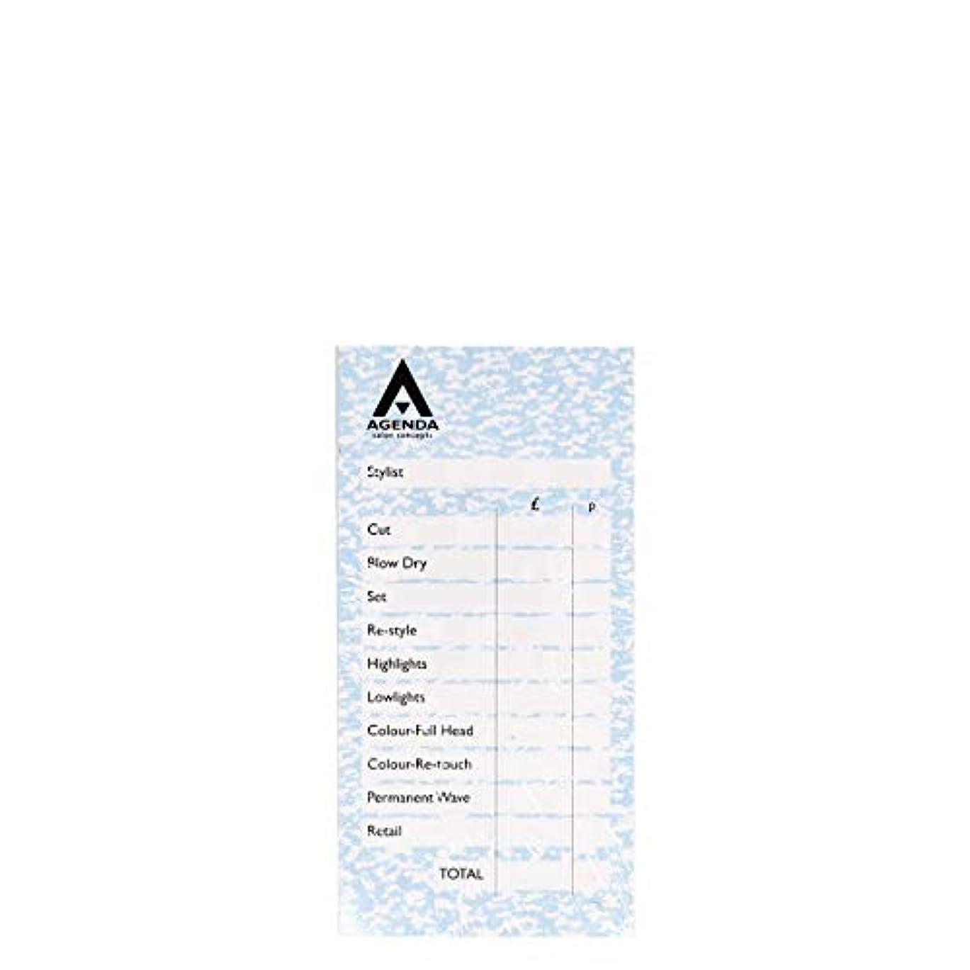 拾う結婚した記憶アジェンダ サロンコンセプト チェックパッドブルー6x100リーフ[海外直送品] [並行輸入品]