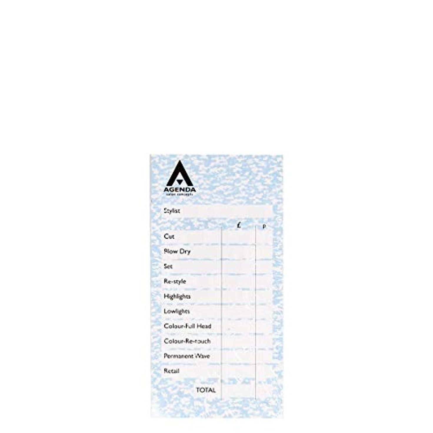 爆発みすぼらしい仕立て屋アジェンダ サロンコンセプト チェックパッドブルー6x100リーフ[海外直送品] [並行輸入品]