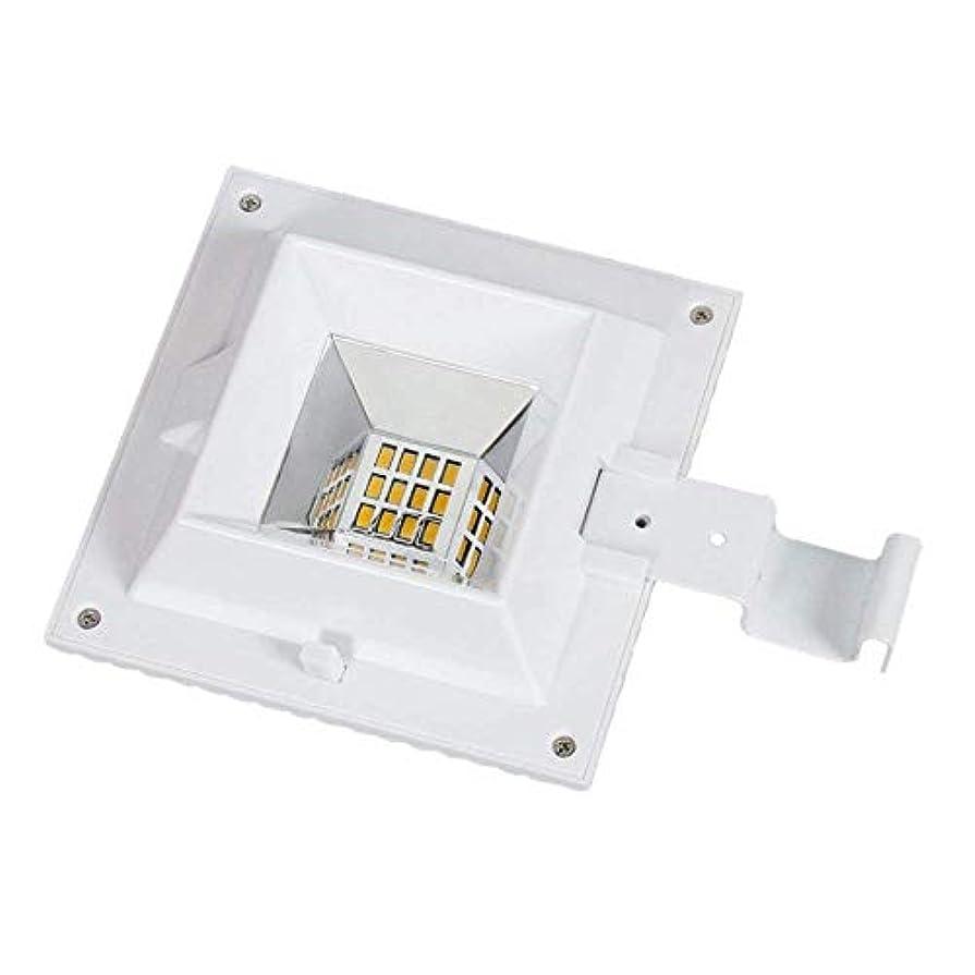 才能ゆるいロードされたソーラーガターライト12 LEDライトセンサーソーラーランプ屋外照明ガーデンフェンス用ソーラー防水壁ランプ