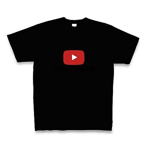(クラブティー) ClubT 【私はYouTuberだ!】YouTuber Design Tシャツ Pure Color Print(ブラック) M ブラック