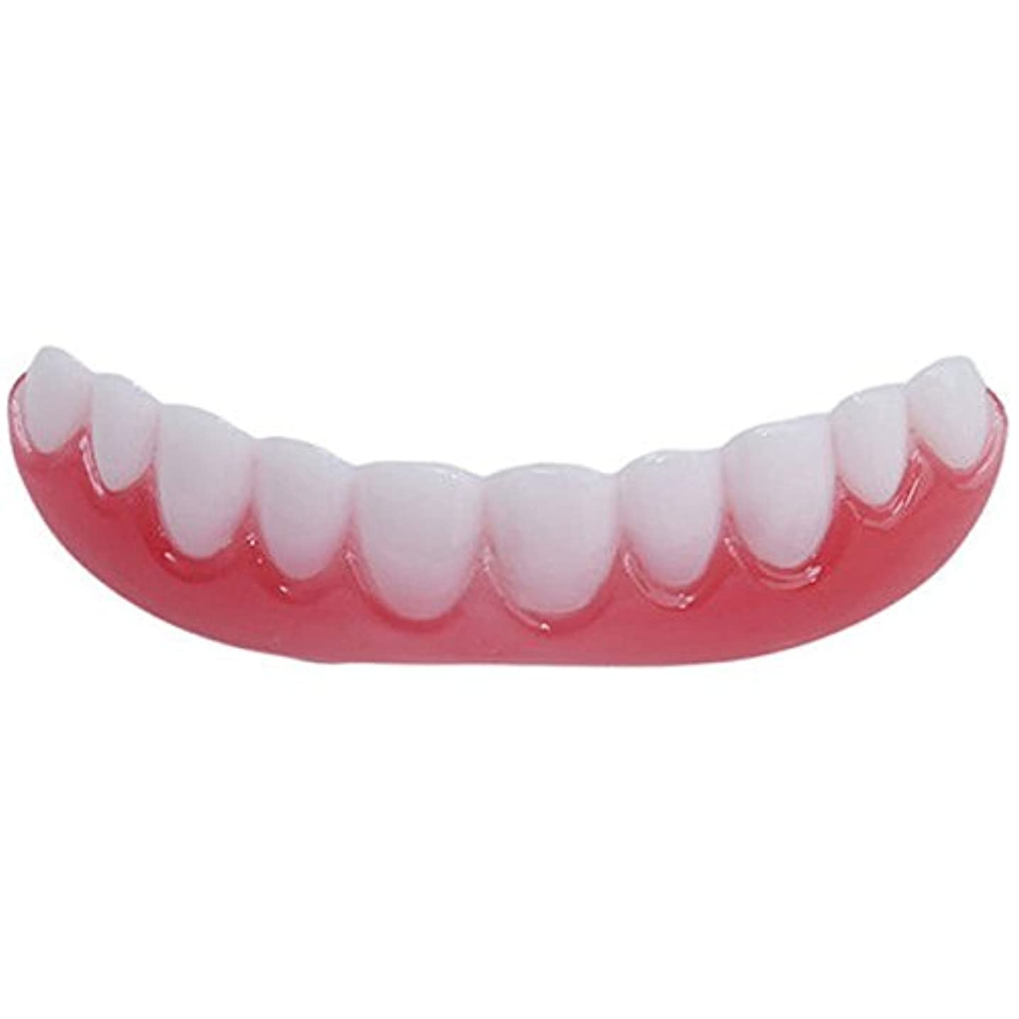 バッグ祖先下に向けますFashionwu 矯正 義歯 シリコン スマイル ベニア シミュレーション フレックス ペースト