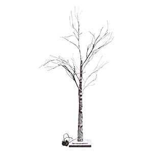 不二貿易 スノーツリー LED 高さ120cm ブラウン 18197