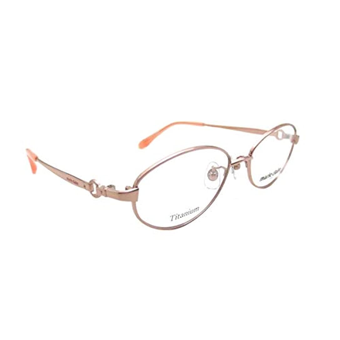 多数の震える義務づけるmarie claire(マリクレール)MC-3104-2オレンジ(50)老眼鏡にしてお届け