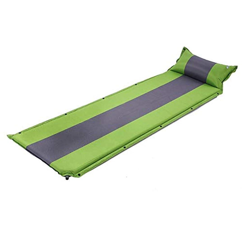 脚本世紀ダンス膨脹可能なベッド枕無限のステッチの膨脹可能なクッションの屋外のより厚いマットが付いている自動膨脹可能なベッド