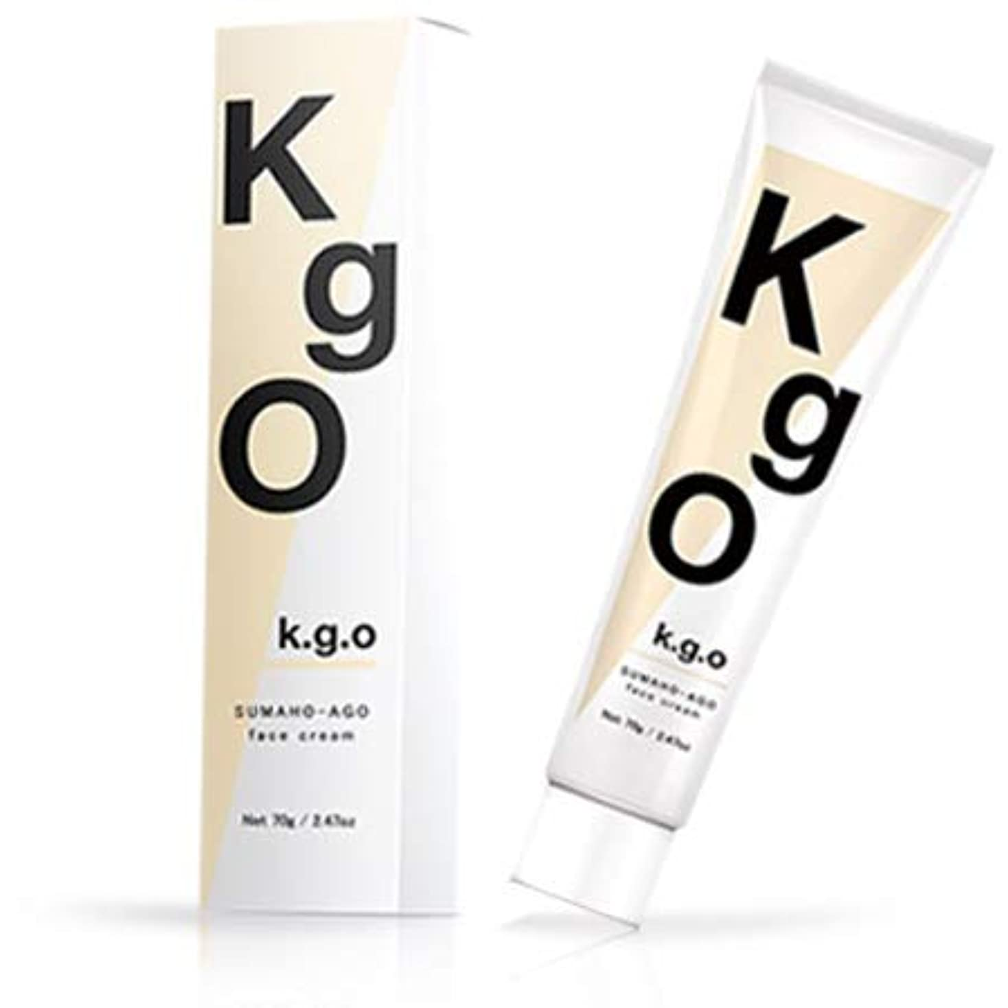 拾うチチカカ湖ワイプK.g.O SUMAHO-AGO face cream ケージーオー スマホあご フェイスクリーム 70g (単品)
