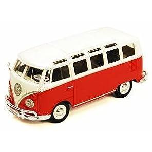 Volkswagen Samba Bus フォルクスワーゲン サンバ バス ダイキャスト 完成品 1/25 31956 [並行輸入品]