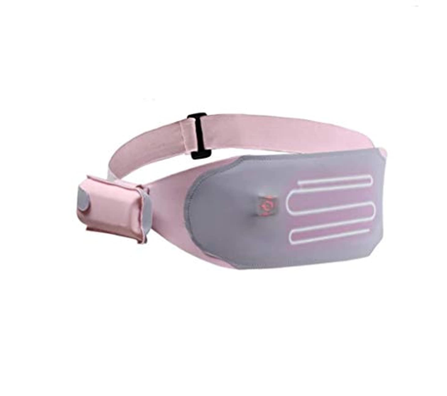 亜熱帯ロシア偽造ウエストマッサージャー、ポータブルベルトサポート、USB充電、加熱、女性の月経困難症を緩和するために調整可能な3つの温度