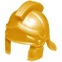 カスタムブロック パーツ センチュリオンの兜:[Pearl Gold / パールゴールド風] 【並行輸入品】