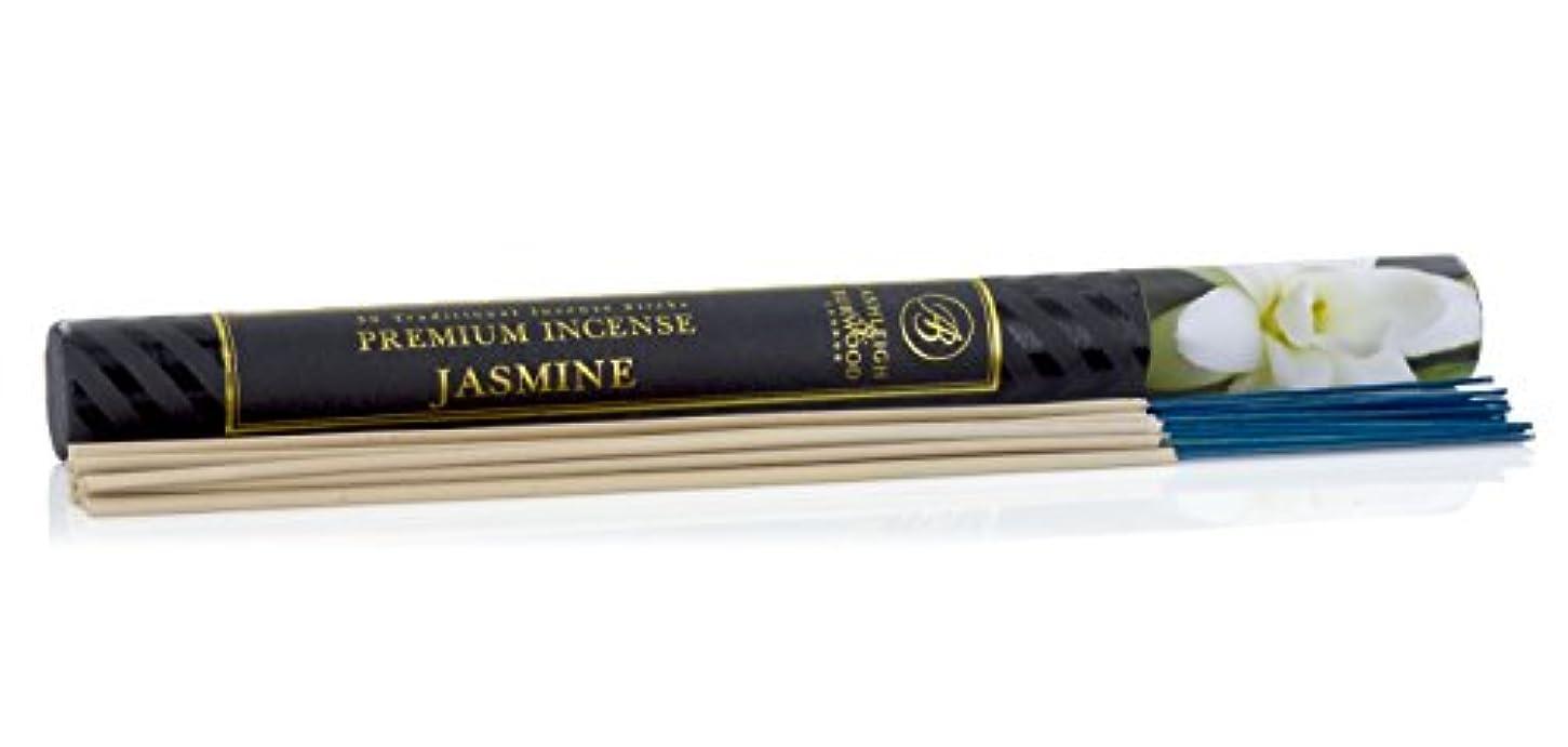 登山家基準刺繍Ashleigh&Burwood お香 30本入 ジャスミン insense Jasmine アシュレイ&バーウッド