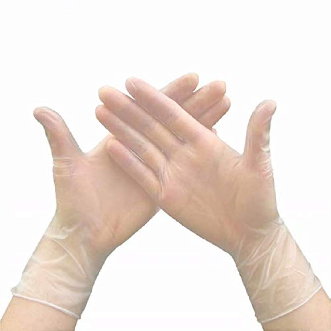 例外哲学的陰気七里の香 使い捨てビニール手袋、医療試験、パウダーフリーラテックスフリー、アレルギーフリー 20pcs/Box