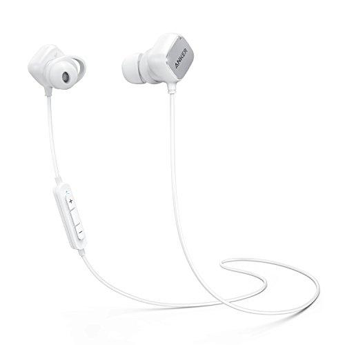 Anker SoundBuds Tag Bluetoothイヤホン【aptX対応 / スマートマグネット搭載 / Bluetooth 4.1対応 / CVC 6.0ノイズキャンセリング機能 / マイク内蔵】iPhone、Android各種対応(ホワイト)
