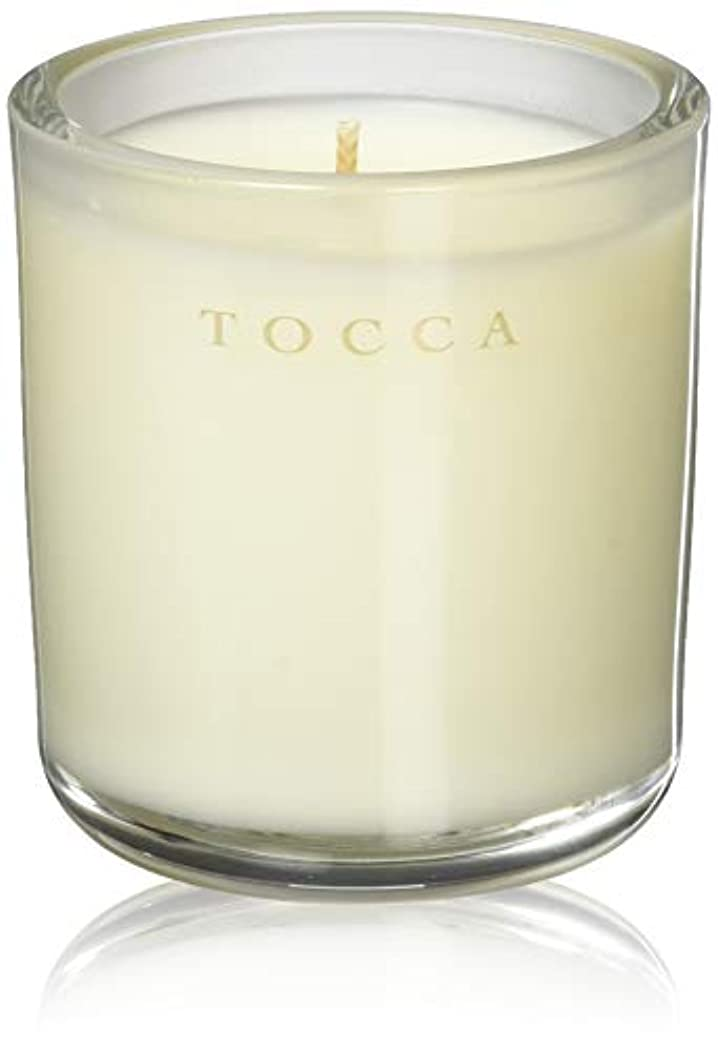 小数オーラル相関するTOCCA(トッカ) ボヤージュ キャンデリーナ バレンシア 85g (ろうそく 芳香 オレンジとベルガモットのフレッシュシトラスな香り)