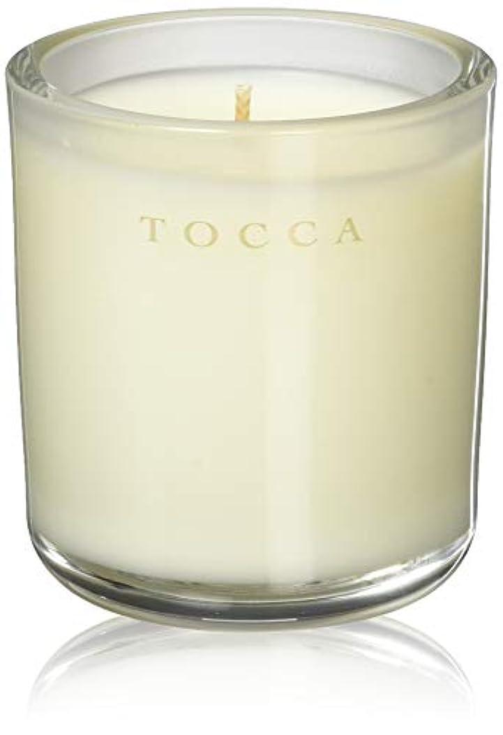 上に兵隊しつけTOCCA(トッカ) ボヤージュ キャンデリーナ バレンシア 85g (ろうそく 芳香 オレンジとベルガモットのフレッシュシトラスな香り)