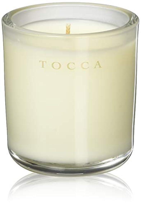 嫌がらせ赤字印象的なTOCCA(トッカ) ボヤージュ キャンデリーナ バレンシア 85g (ろうそく 芳香 オレンジとベルガモットのフレッシュシトラスな香り)