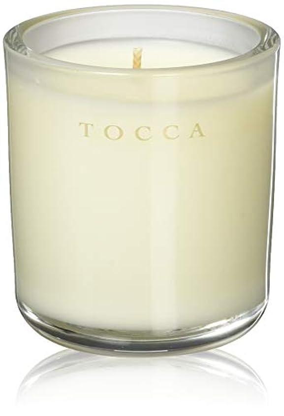 ジャンプする愛撫識別TOCCA(トッカ) ボヤージュ キャンデリーナ バレンシア 85g (ろうそく 芳香 オレンジとベルガモットのフレッシュシトラスな香り)