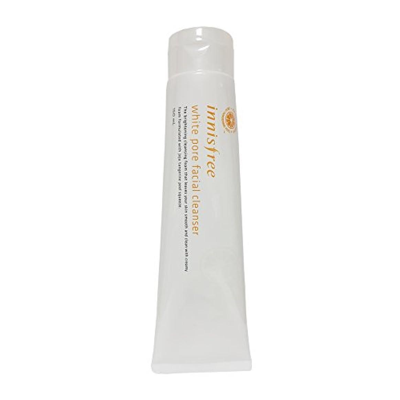 馬力トレッド貫通する[イニスフリー] Innisfree ホワイト毛穴フェイシャルクレンザー (150ml) Innisfree White Pore Facial Cleanser(150ml) [海外直送品]