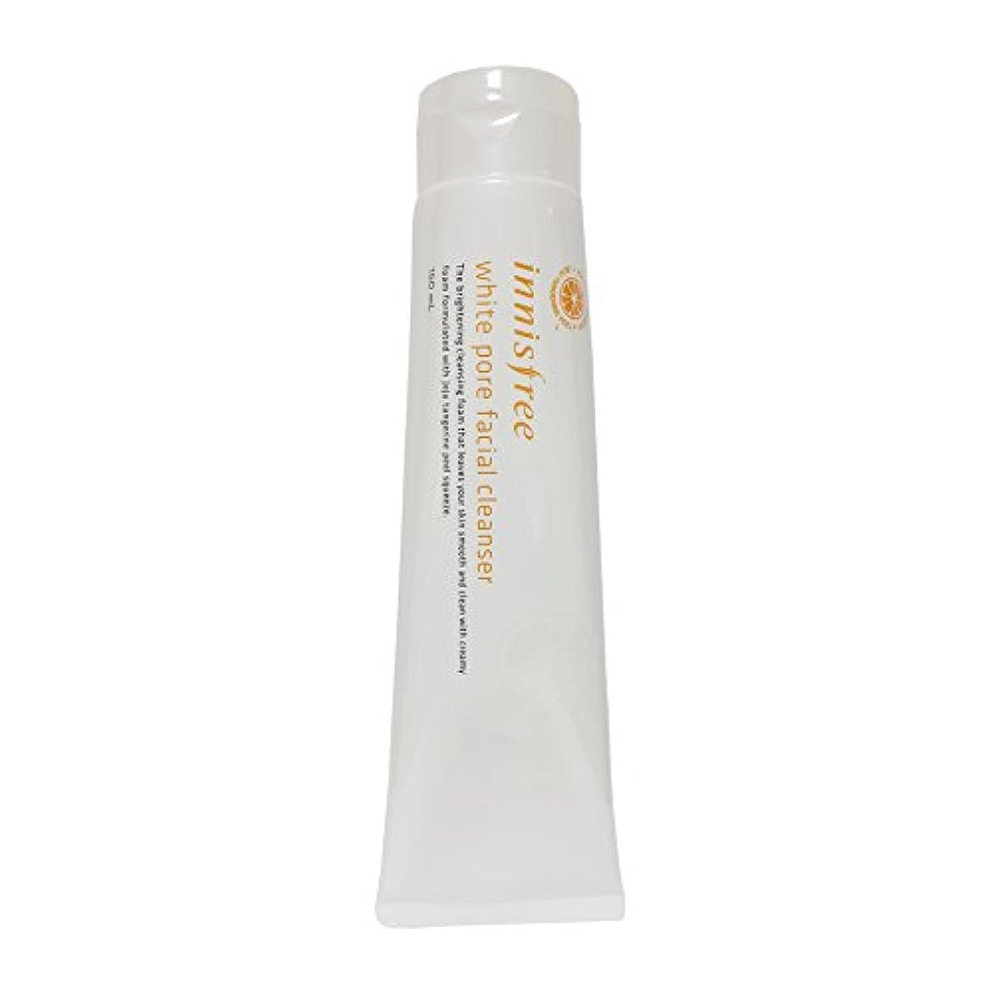 支出一晩氷[イニスフリー] Innisfree ホワイト毛穴フェイシャルクレンザー (150ml) Innisfree White Pore Facial Cleanser(150ml) [海外直送品]