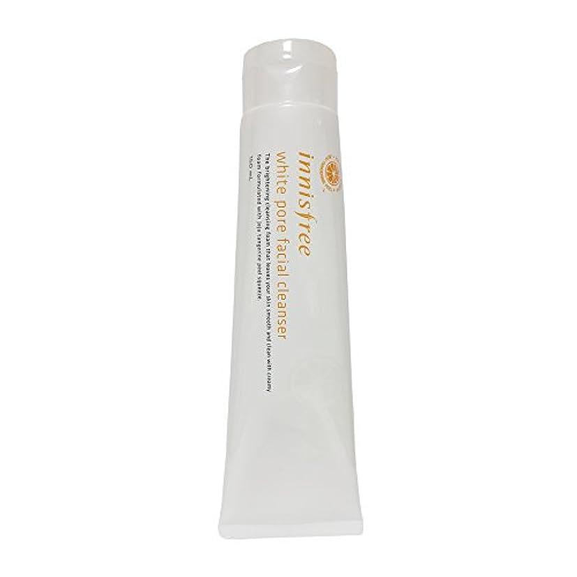 そっとアイスクリームスポーツマン[イニスフリー] Innisfree ホワイト毛穴フェイシャルクレンザー (150ml) Innisfree White Pore Facial Cleanser(150ml) [海外直送品]