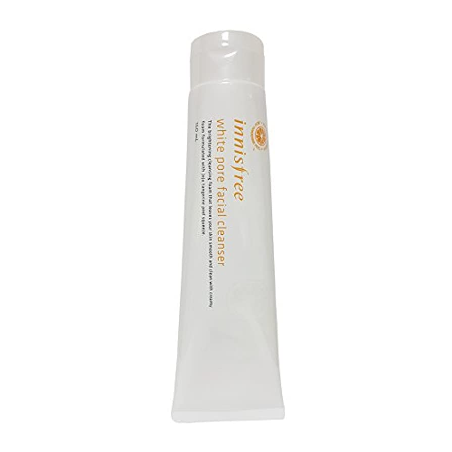スラダム急降下小さな[イニスフリー] Innisfree ホワイト毛穴フェイシャルクレンザー (150ml) Innisfree White Pore Facial Cleanser(150ml) [海外直送品]