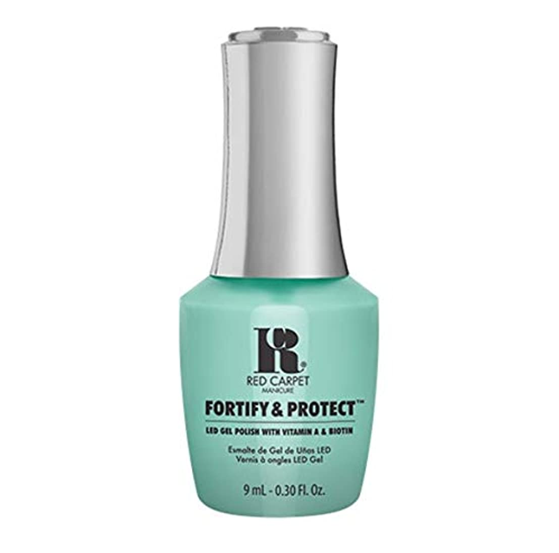 ご予約適合するホイールRed Carpet Manicure - Fortify & Protect - Front And Center - 9ml / 0.30oz