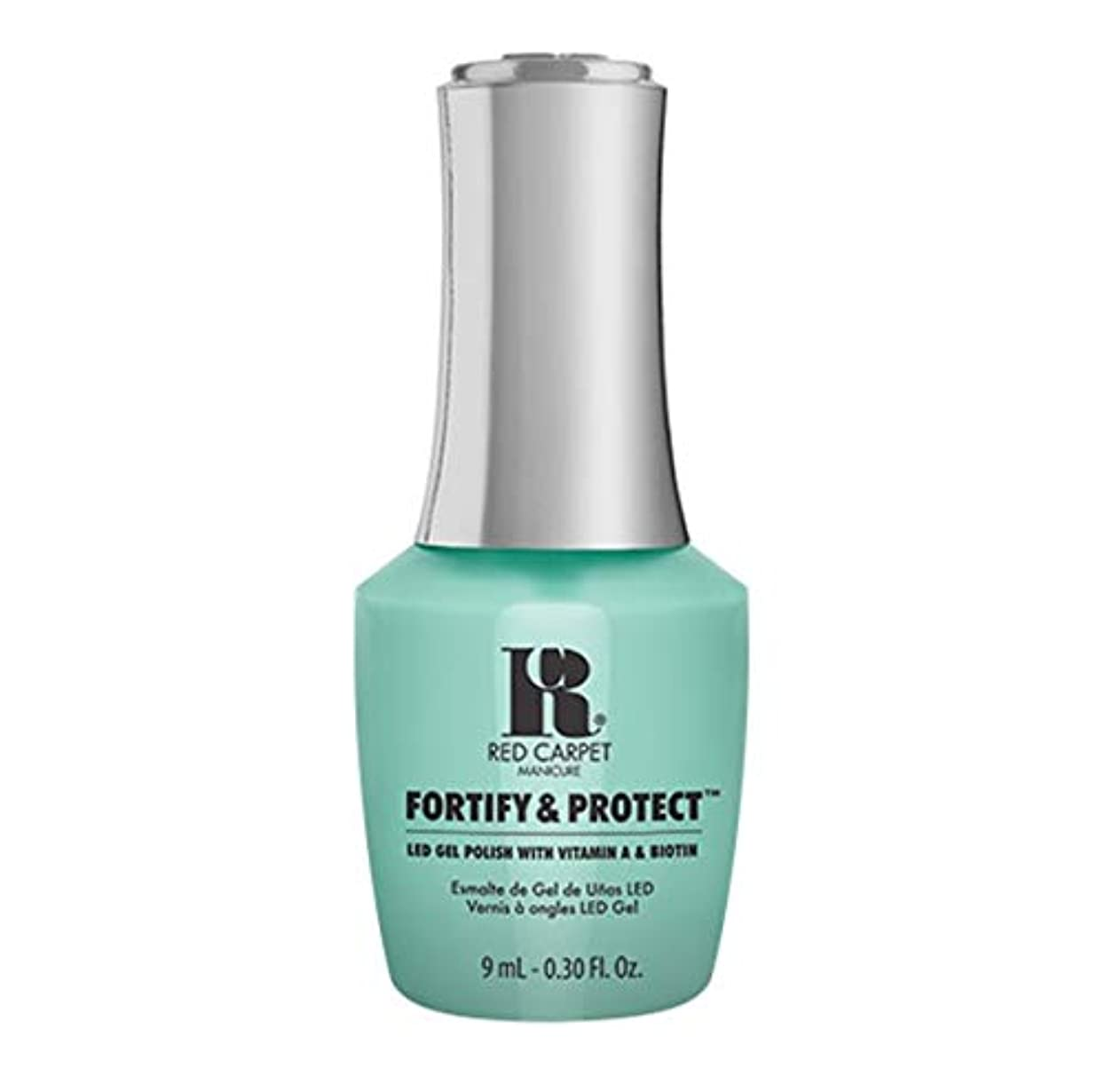 維持するおなかがすいたやろうRed Carpet Manicure - Fortify & Protect - Front And Center - 9ml / 0.30oz
