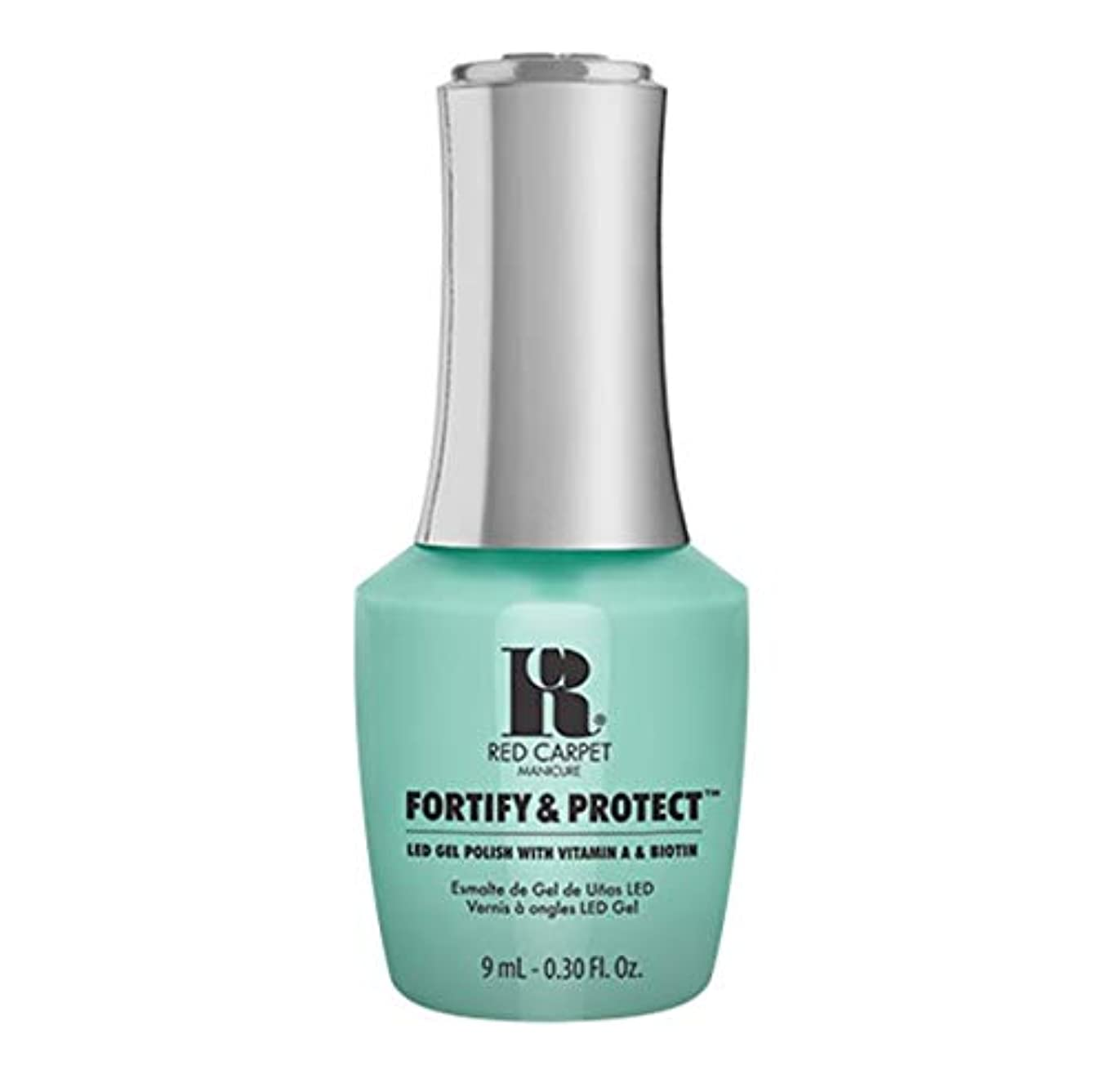 横インディカルーフRed Carpet Manicure - Fortify & Protect - Front And Center - 9ml / 0.30oz