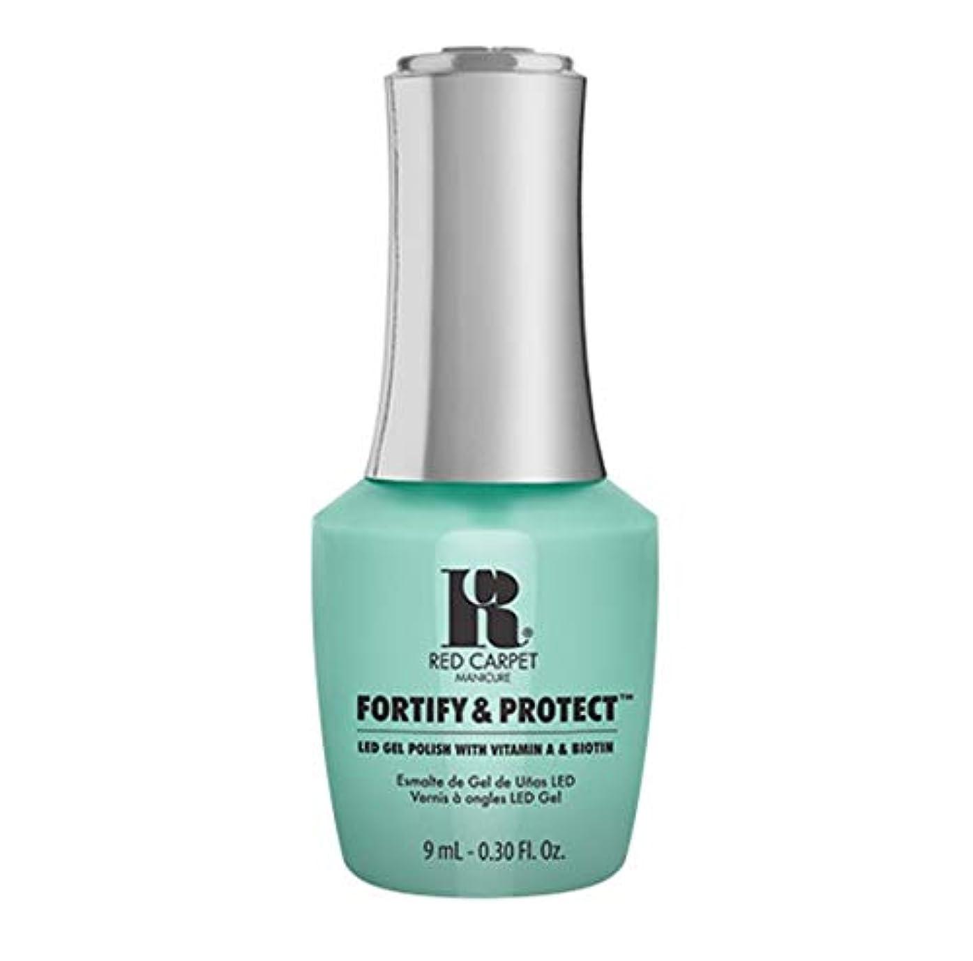 過剰忠実なエイリアスRed Carpet Manicure - Fortify & Protect - Front And Center - 9ml / 0.30oz