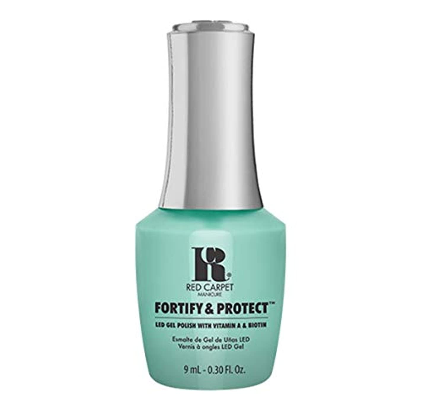 主要な個人的な風刺Red Carpet Manicure - Fortify & Protect - Front And Center - 9ml / 0.30oz