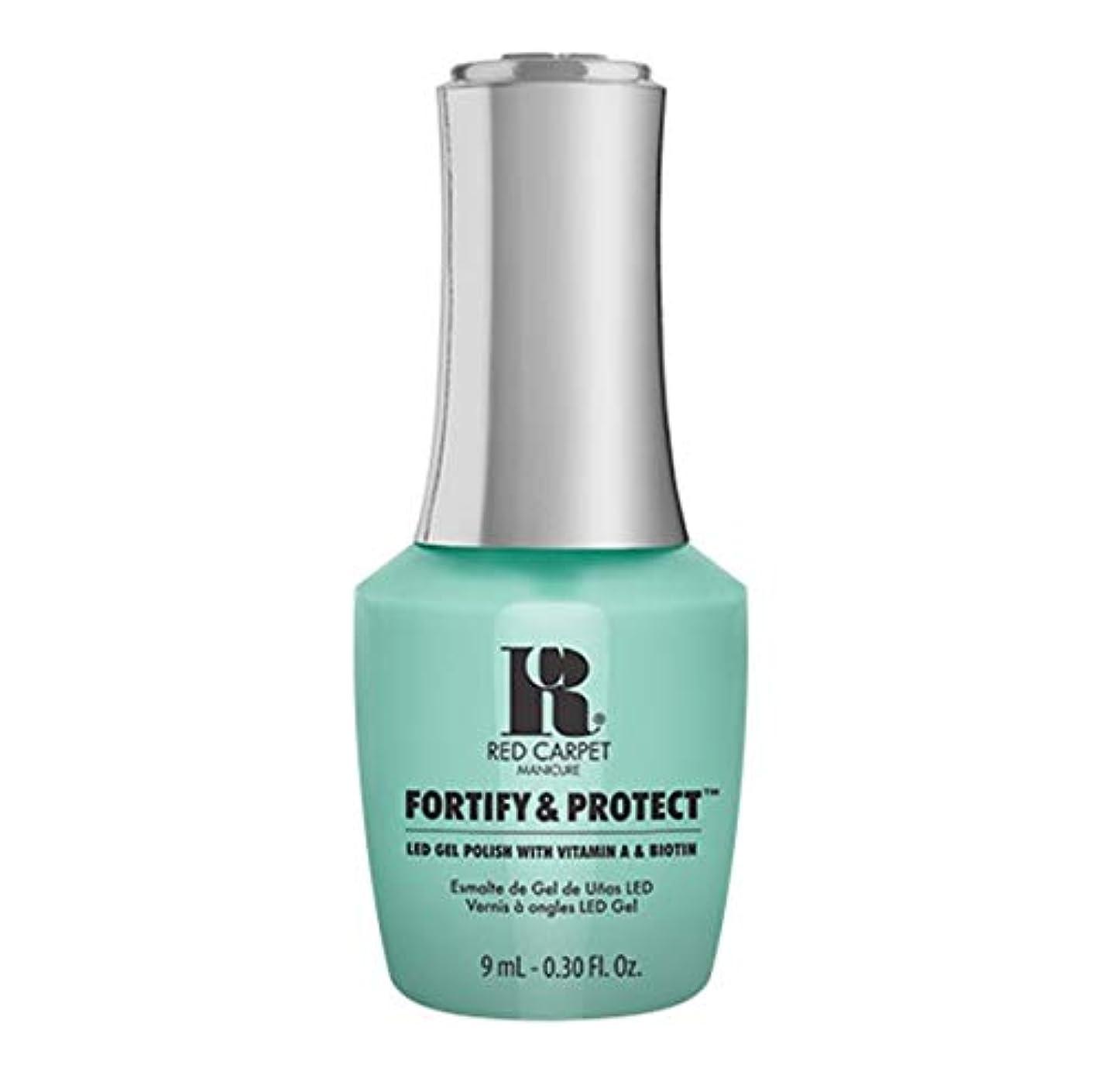 フォルダ第四激しいRed Carpet Manicure - Fortify & Protect - Front And Center - 9ml / 0.30oz
