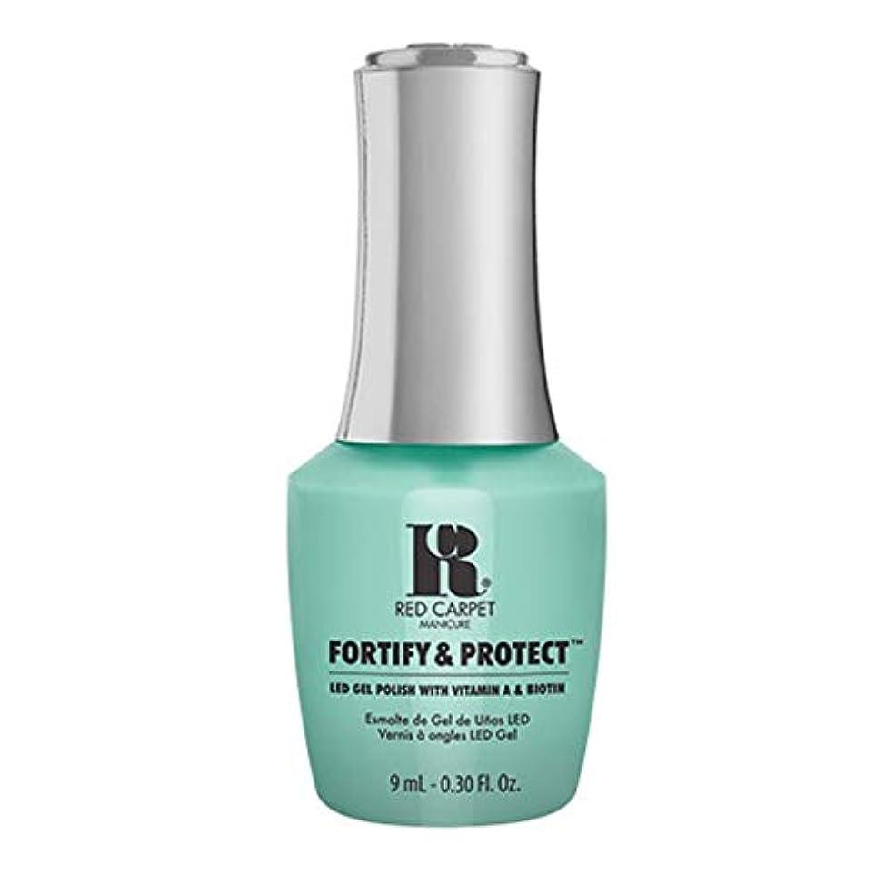 子羊冷酷な苦情文句Red Carpet Manicure - Fortify & Protect - Front And Center - 9ml / 0.30oz