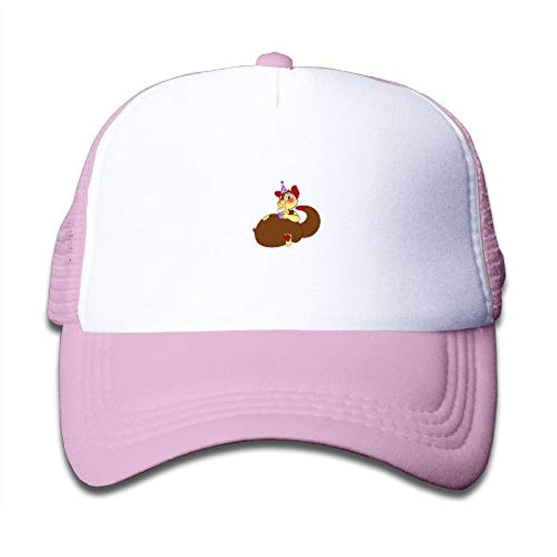 子ども グリッドキャップ誕生日 おしゃれな 軽量 メッシュ帽子 オスとメス 通用