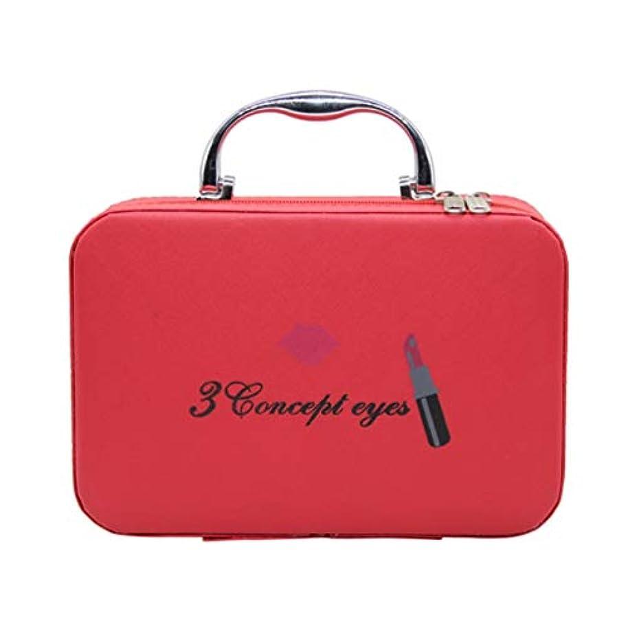 パッチ僕の熟達したメイクポーチ メイクバッグ コスメポーチ コスメバッグ 化粧品収納 手提げ スムース ダブルジッパー 小型 持ち運び便利