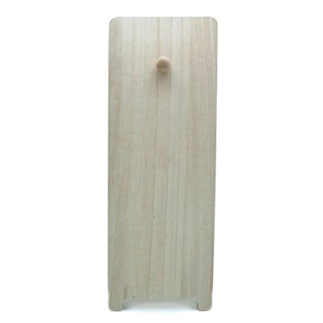 鋭くアジア人遠足桐製飾り台