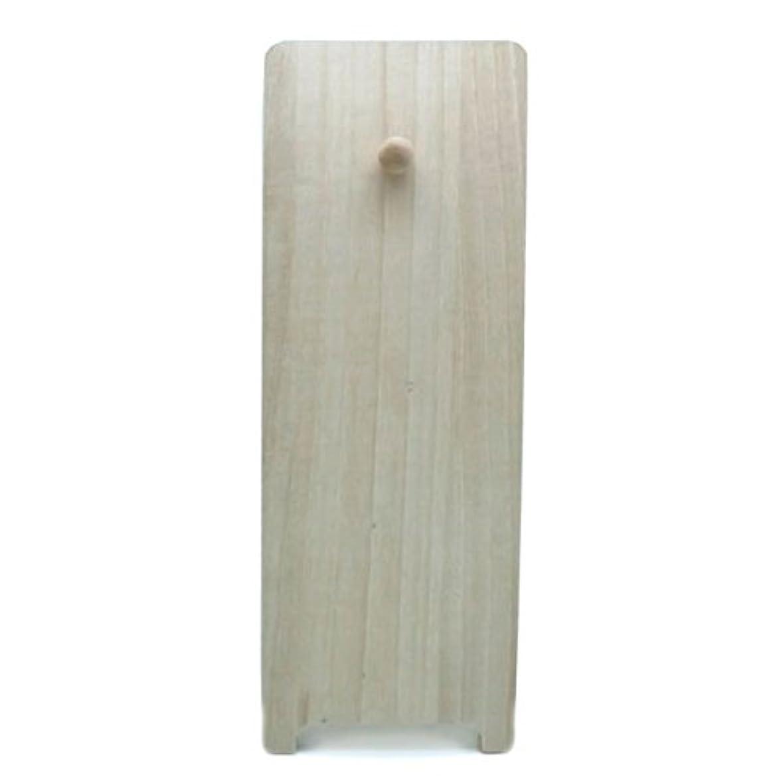 ペグ疎外彫刻桐製飾り台