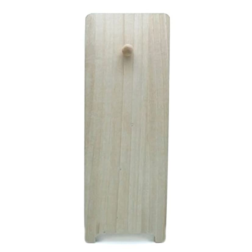 手首割り当てます引っ張る桐製飾り台