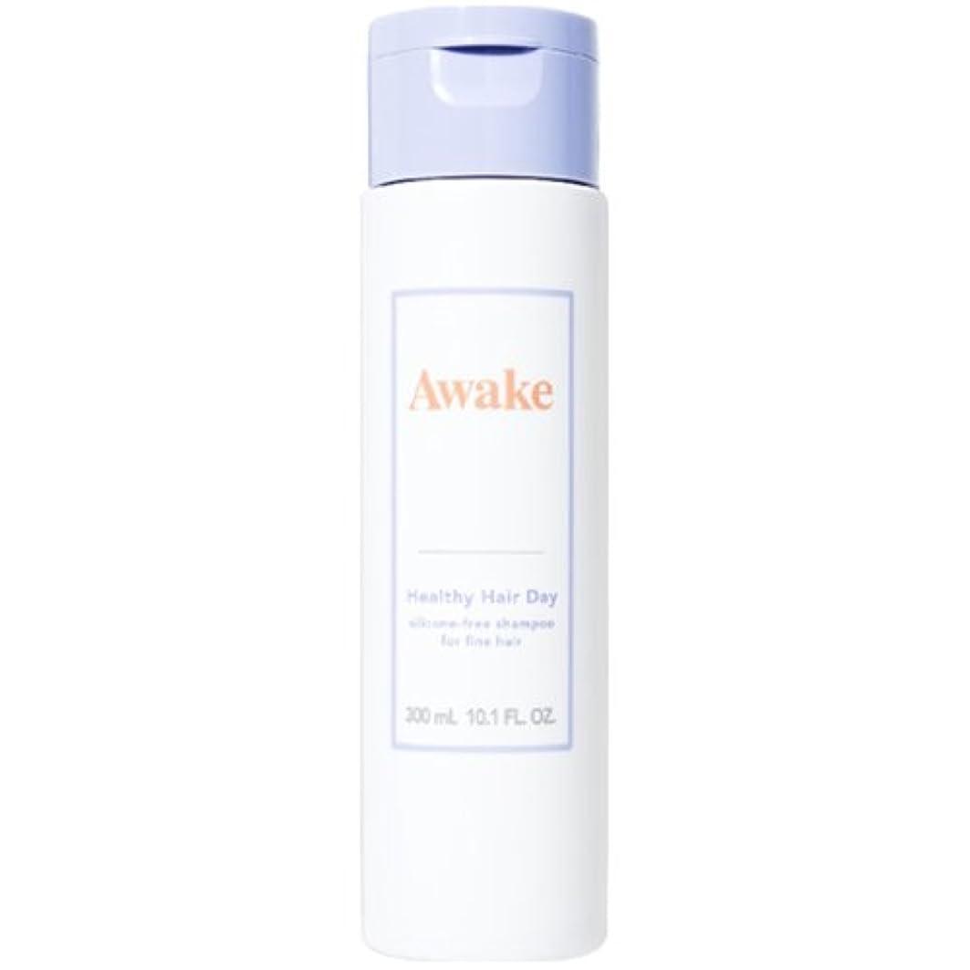 シロナガスクジラ困惑主観的アウェイク(AWAKE) Awake(アウェイク) ヘルシーヘアデイ シリコーンフリー ヘアシャンプー ハリコシアップヘア用 (300mL)