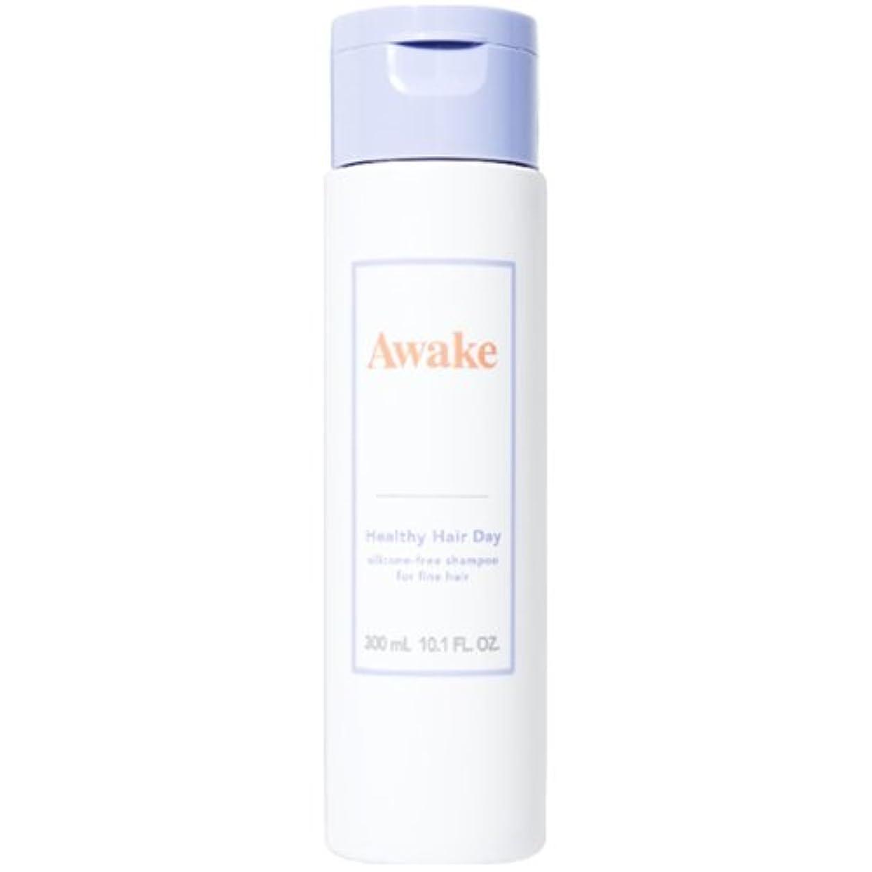 抑圧最初に助言するアウェイク(AWAKE) Awake(アウェイク) ヘルシーヘアデイ シリコーンフリー ヘアシャンプー ハリコシアップヘア用 (300mL)