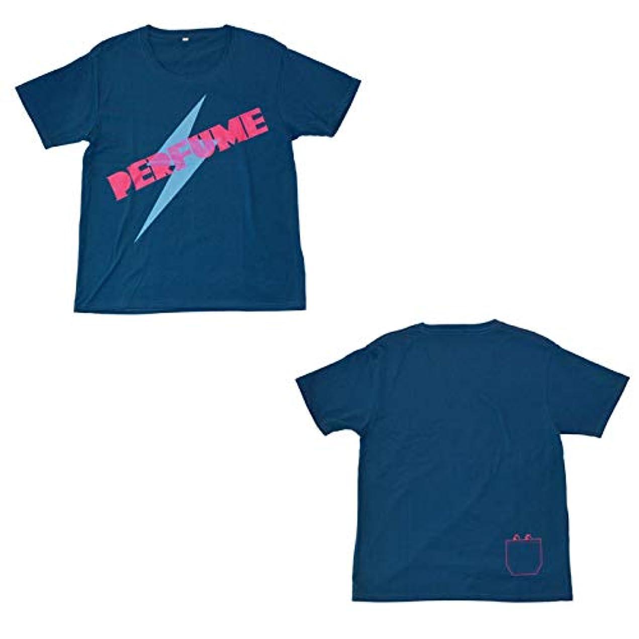 肉腫韻我慢するPerfume(パフューム) イナズマTシャツ Lサイズ 2010年
