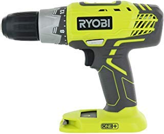 Ryobi P277 One+ 18 Volt Lithium Ion 1/2 Inch 2-Speed Drill Driver (18 Volt Batteries Not Included / Power Tool Only)