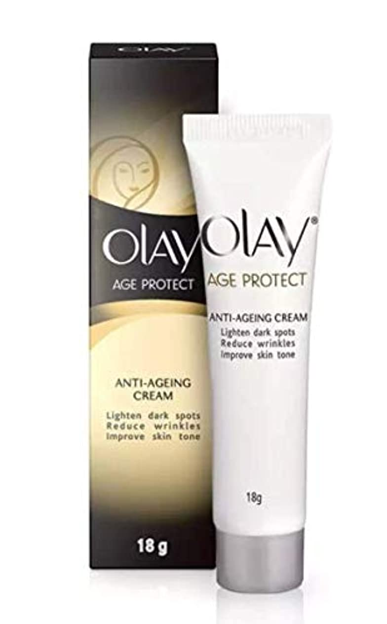 OLAY AGE PROTECT ANTI-AGEING CREAM 18g [並行輸入品]