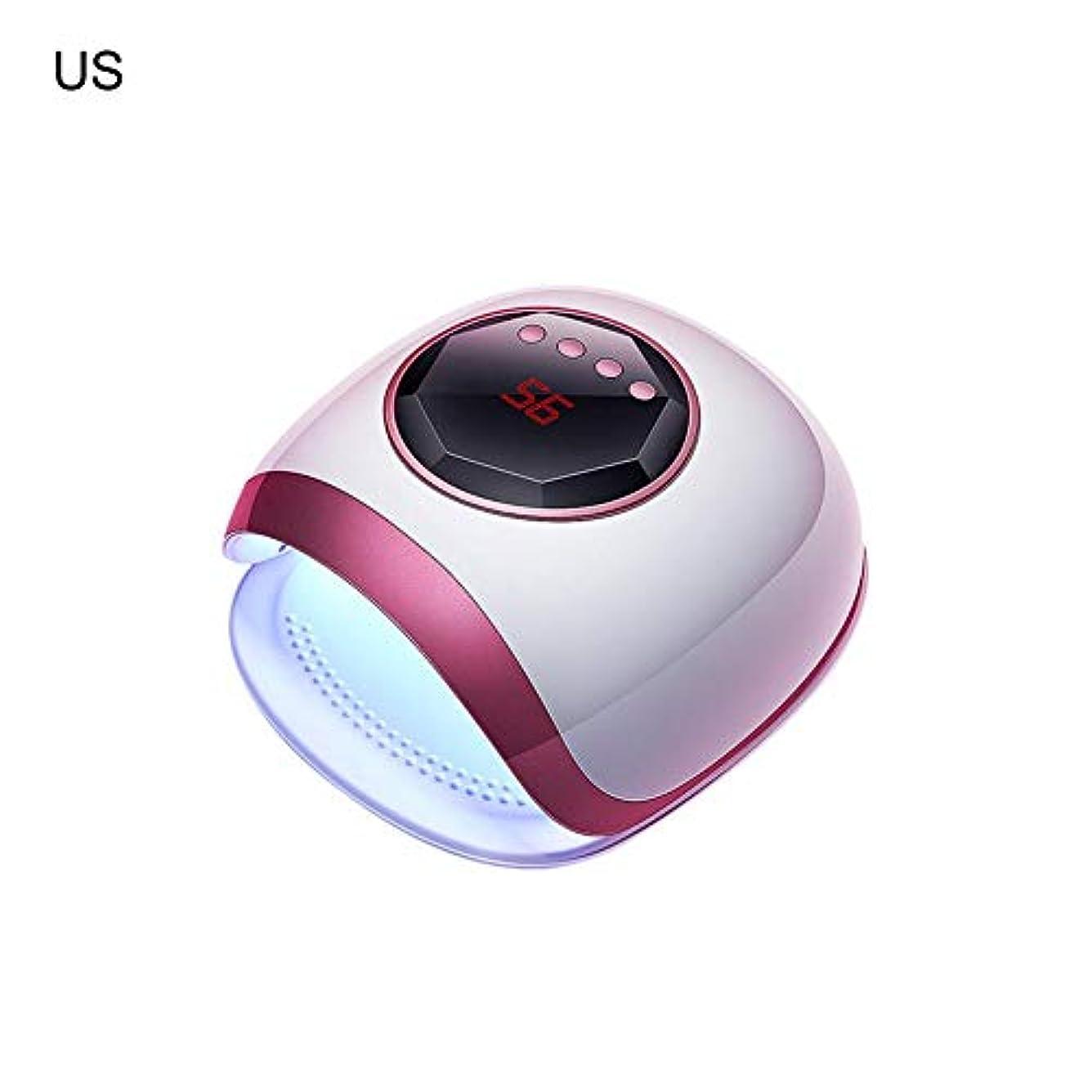 寝てるうなるサイクルRagem-ビューティー LEDネイルドライヤー UVライト タイマー設定可能 72W LED硬化ライト 高速硬化ジェルネイルライト 自動センサー機能 ハンドフット両用