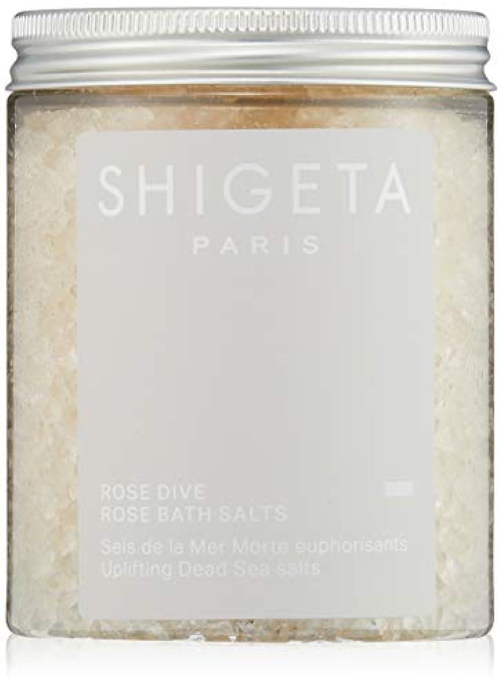 つかまえる最近分注するSHIGETA(シゲタ) ローズダイブ バスソルト 285g